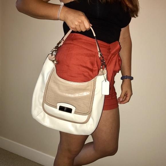 Coach Handbags - Coach Kristin Spectator Leather Hobo